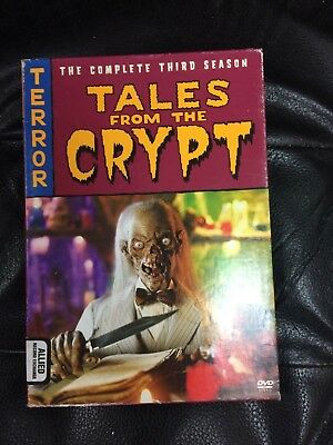 TALES FROM THE CRYPT Complete Third 3rd Season 3 Three DVD HBO TV Show Series