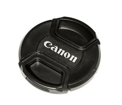 Canon 58mm Centre Pinch Snap on Front Lens Cap  for Lenses with 58mm Thread