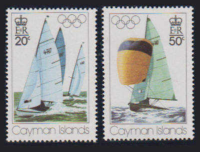 Cayman Is. - 1976 Olympic Set. Sc. #377-8, SG #410-1. Mint