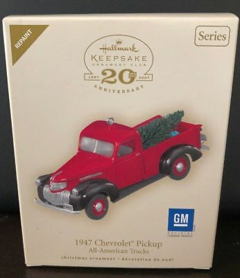 Hallmark 2007 1947 Chevrolet Pickup All-American Trucks #13 REPAINT RED Ornament