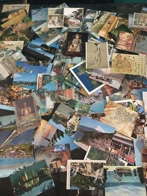 Stunning Lot Of Asia Mint Used Picture Postcards China Japan Thailand Singapore