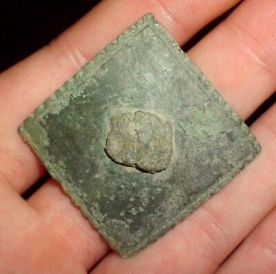 Superb Ancient Celtic Bronze Solar Decoration - 200 Bc - Rare!