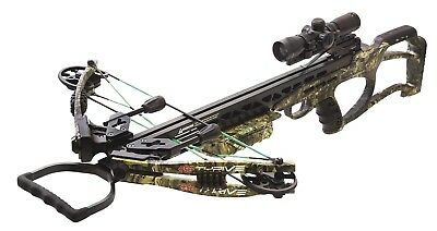 NEW PSE THRIVE 365 CROSSBOW PACKAGE, MOSSY OAK COUNTRY CAMO 365fps