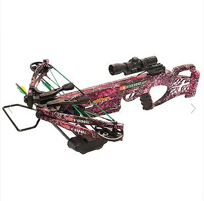 New Pse Fang Lt Crossbow Package Muddy Girl Camo 330 Fps