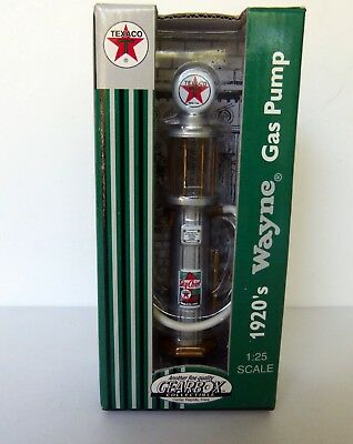 Gearbox LE 1920's Wayne Gas Pump Texaco 1:25 Scale 1999 Brand New NIB
