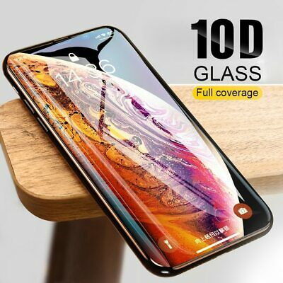 6D 10D Fit Apple iPhone Xr 100%Tempered Glass Film Screen Protector 9H Guard UK