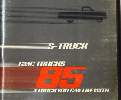 Jimmy Gmc S-15 Truck 85 Owner's Manual