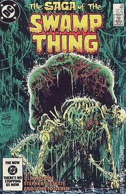 Swamp Thing (2nd Series) #28 1984 FN Stock Image