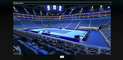 ticket Nitto ATP World Tour tennis finals on Sunday 19th november