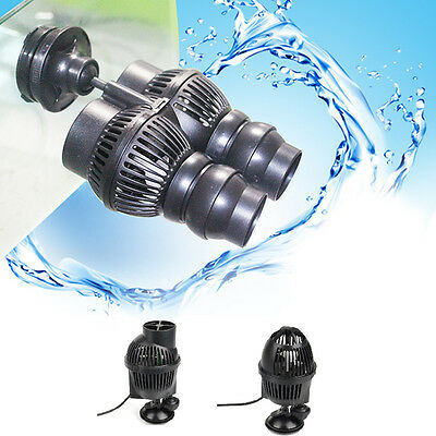 New Aquarium Circulation Pump Wave Maker 800/1300/1600GPH Suction Cup Mount