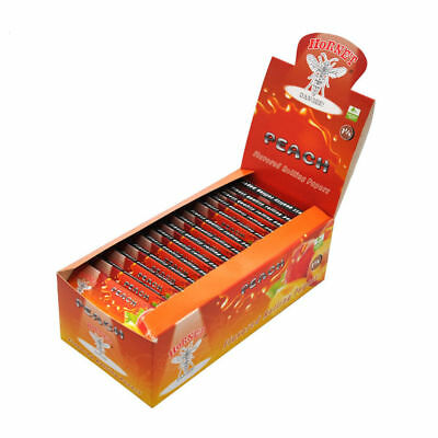 Hornet Peach Flavored Rolling Papers 1 1/4 Size Rizla Flavor Cigarette Roller