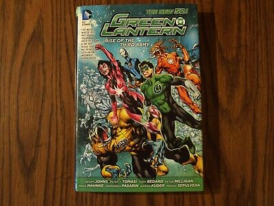DC New 52 Hardcover TPB GN Green Lantern: Rise Of the Third Army ($29.99)