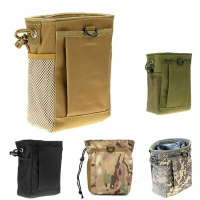 Hunting Hiking Military Molle Belt Tactical Ammo Magazine Dump Utility Pouch Bag