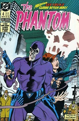 Phantom (DC 1st Series) #4 1988 FN Stock Image