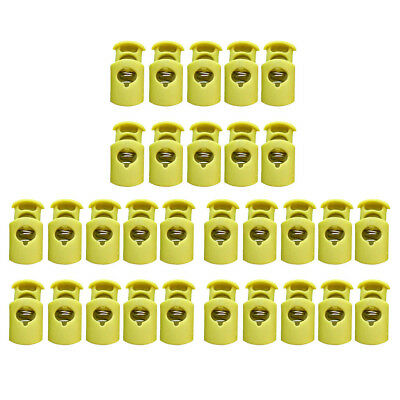 30Pcs Cord Lock Toggles Stoppers Plastic for Jackets Coat Clothes