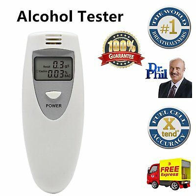 New Portable MINI Digital LCD Alcohol Breath Tester Analyzer Breathalyzer M2