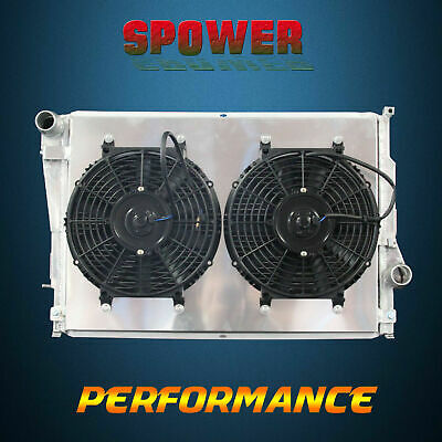 3-Row/CORE Aluminum Radiator+Fan Shroud For BMW E46 M3 L6 3.2L S54 01-06
