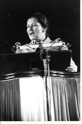Simone VEIL  Photo Presse Originale 1984