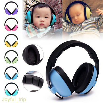 BABY Childs Ear Defenders Earmuffs Protection 3months+ Boys Girls Kids For Sleep