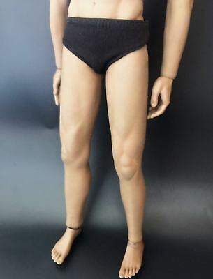 """1/6 Scale Men's Black Panties Model For 12"""" male Action Figure doll"""