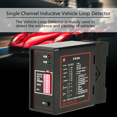 1PC PD132 Single Channel Inductive Vehicle Loop Detector For The Car Parking