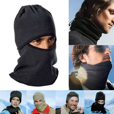 Windproof Sports Full Face Mask Balaclava Hat for Motocycle Cycling Skiing AU