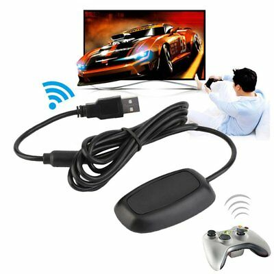 Black/white PC Wireless Controller Gaming USB Receiver Adapter for XBOX 360 MT