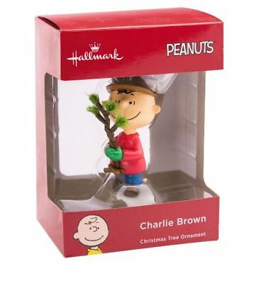 NEW! 2018 Peanuts Charlie Brown Christmas Tree Hallmark Ornament