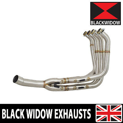GSX 650 F 1250 FA 07/16 Water Cooled Race Exhaust Downpipes Front Pipes Headers