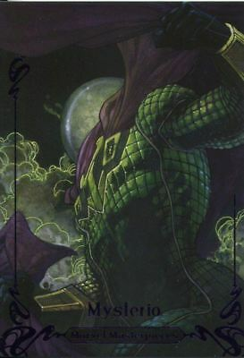 Marvel Masterpieces 2018 Purple [199] Base Card 20 Mysterio