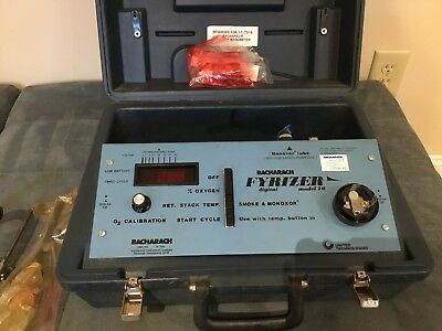 Bacharach Portable Combustion Analyzer 24-7019