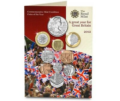 UK 2012 Royal Mint BU Pack - No Longer Available from the Royal Mint [Ref 496H]