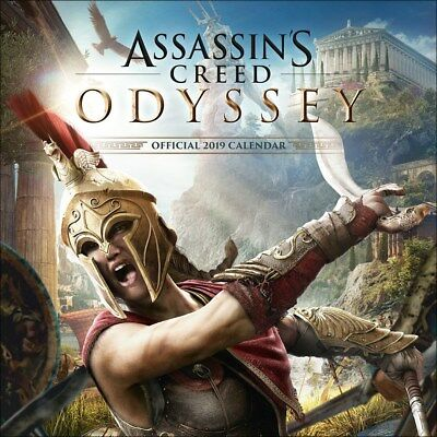 Assassin's Creed Odyssey Calendrier 2019 carré 30 x 30 cm