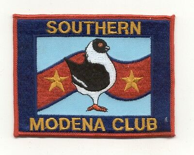 Southern Modena Club (Pigeon Breeders) Patch