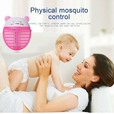 Mosquito Insect Killer USB Electric LED Light Fly Bug Zapper Trap Catcher Lamp R