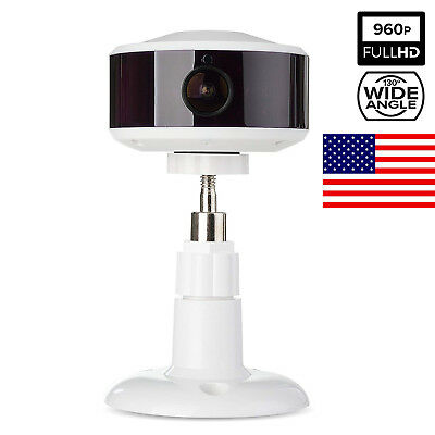 960P Two Way Audio and 130 Degree Wide Viewing Angle Wifi Camera Baby Monitor US