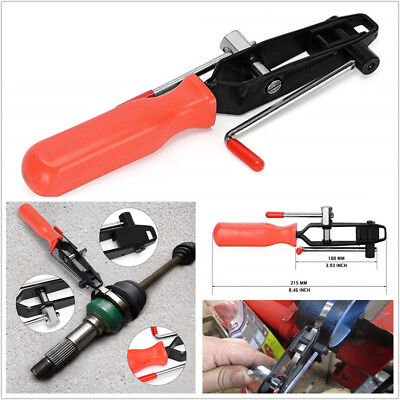Automotive CV Joint Boot Clamp Pliers Banding Crimper Tool with Cutter Durable