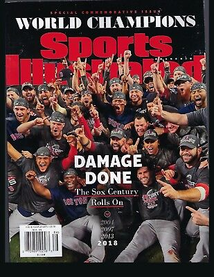 Sports Illustrated 2018 WORLD SERIES CHAMPS SOX CENTURY ROLLS ON