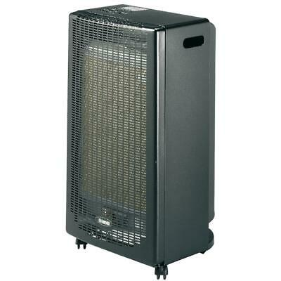 Stufa a gas gpl 2900w catalitica 3 livelli riscaldamento ambienti 80mc light k