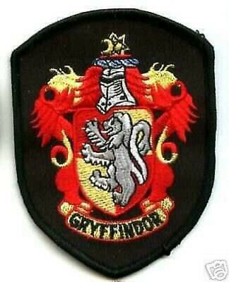 Británico Parche Harry Potter House Of Gryffindor Crest