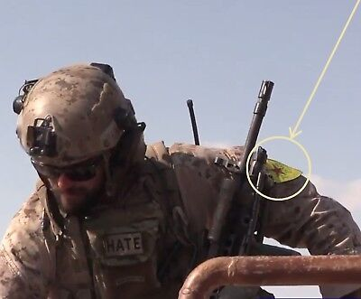 US SFG Green Berets SP OPS wearing vel ⚙ YPG Insignia in Syria 'n Northern Iraq