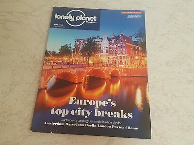 Lonely Planet - Traveller - Issue 89 - May 2016 - Austrian Alps, Thailand, USA