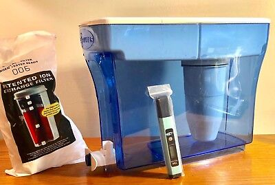 ZeroWater 23 Cup Dispenser with Free TDS Meter Total