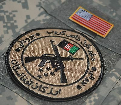 KANDHARA TALIZOMBIE WHACKER PRO-TEAM AFG NATIONAL ARMY SPECIAL FORCES SSI+Flag