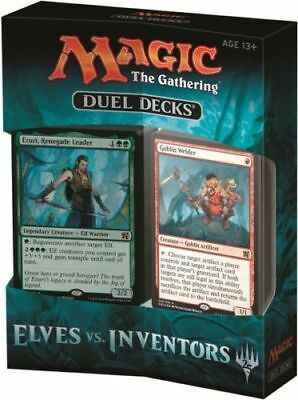 Magic the Gathering Duel Decks: Elves Vs Inventors Sealed MTG