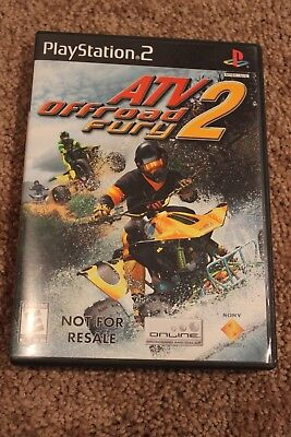 ATV Offroad Fury 2 (Sony Playstation 2) -- Tested Working