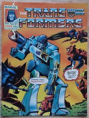 Transformers UK Comic Issue 108