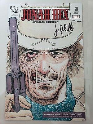 JONAH HEX SPECIAL EDITION #1 (2010) DC COMICS SIGNED by JIMMY PALMIOTTI! COA