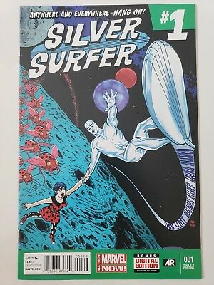 Silver Surfer #1 (2014) All-New Marvel Now Comics 3Rd Print Variant! Mike Allred