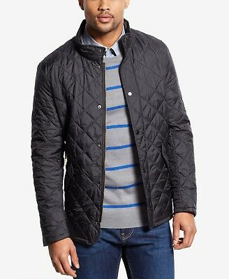 Barbour Flyweight Chelsea Quilt Black Jacket Men's Medium